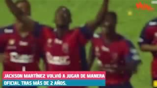 Jackson Martínez vuelve a las canchas, estamos contigo goleador