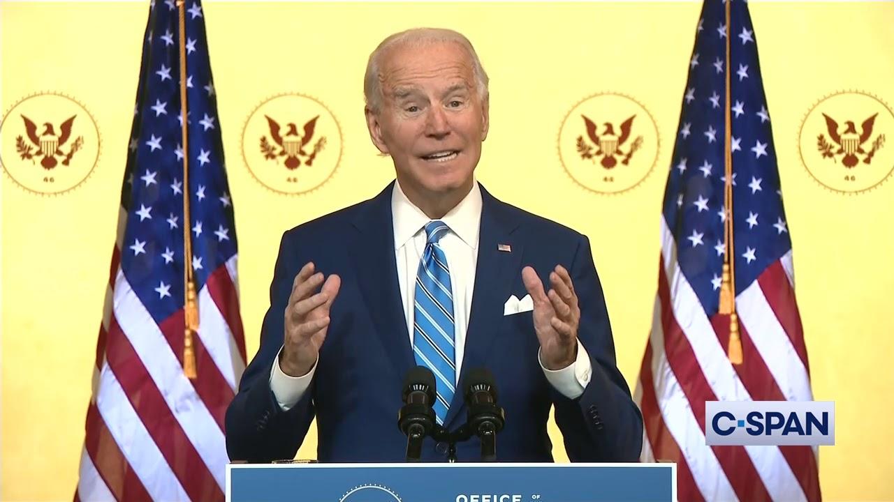 President-elect Joe Biden Thanksgiving Address