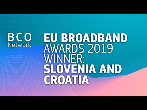 EU Broadband Awards 2019 winner: Slovenia and Croatia photo