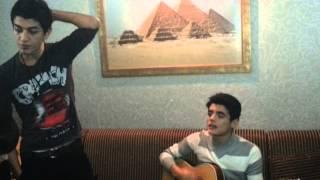 Mubariz Deniz ft Akber Kerimlee - De niye ( Guitar Cover )