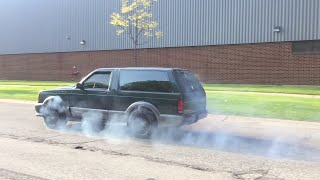 AWD LS TWIN TURBO Typhoon Launch and Burnout!!