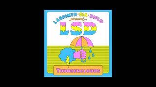 LSD - Thunderclouds (Instrumental) (Sneak Peek)
