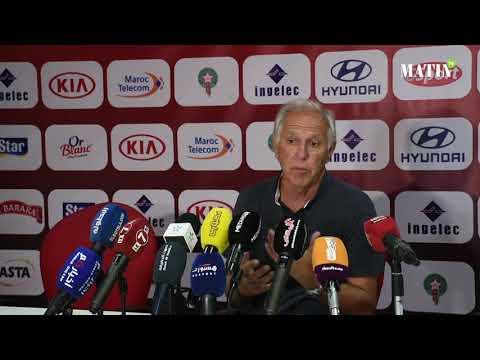 Video : René Girard : «Je suis satisfait du résultat,  mais pas de la manière»