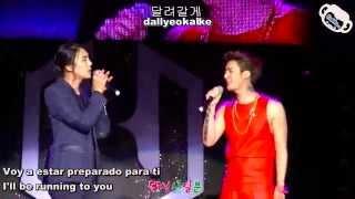 Kim Hyun Jun Feat Park Jung Min -  Even is thousand years pass (Sub Esp+ Eng + Hangul + Romani)