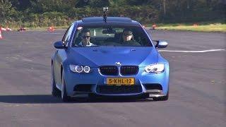 BMW M3 E92 Coupé M-Performance - Acceleration Sounds! width=