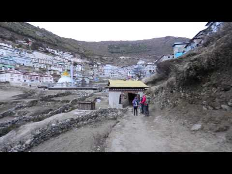 View around Namche Bazar