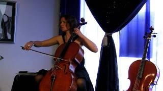 Bach Cello Suite No 1 in G major BWV 1007 (5-6) Menuet 1-2 - Josephine van Lier