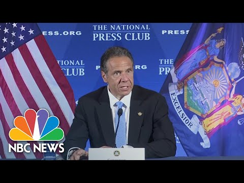 Cuomo Asks Congress To 'Stop Abusing' States Impacted By Coronavirus | NBC News NOW