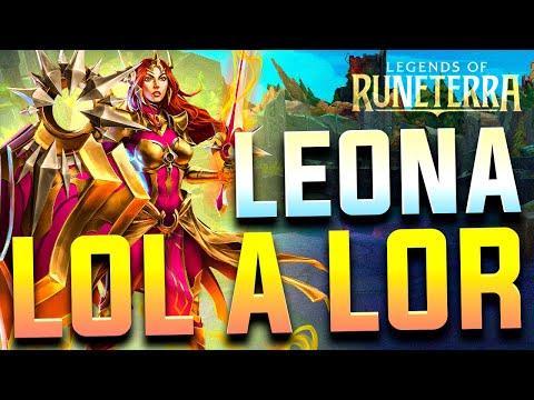 LEONA   De League of Legends a Legends of Runeterra (De LOL a LOR)