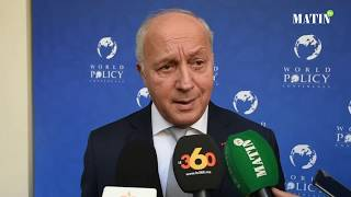 #World_Policy_Conference: Déclaration de Laurent Fabius