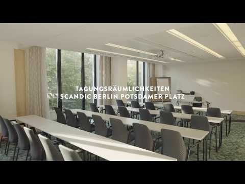 Unsere Tagungsräume im Scandic Berlin Potsdamer Platz