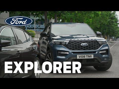 Nechte parkování na Fordu Explorer | Nový Ford Explorer Plug-In Hybrid | Ford Česká republika