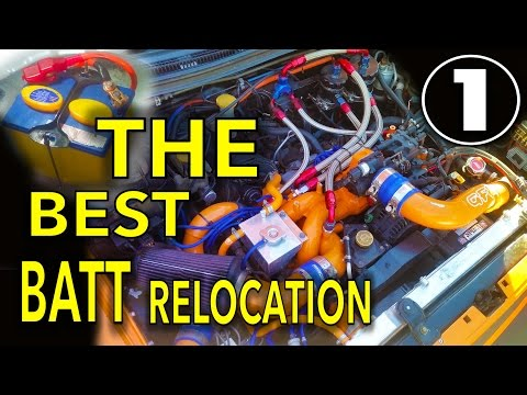 THE ULTIMATE BATTERY RELOCATION | SUBARU | P1