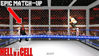 Shane McMahon vs Kevin Owens | WWE Hell in a Cell-2017 | Simulation | WR3D