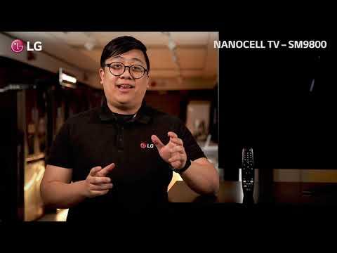 LG SM9800 - Kraftig NanoCelle-TV