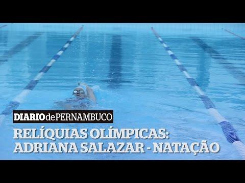 Rel�quias Ol�mpicas: Adriana Salazar