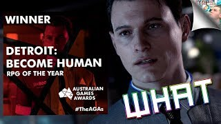Australian Game Awards RPG Of The Year Goes To... Detroit: Become Human? What?