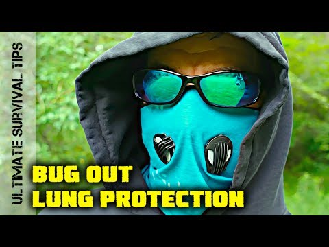 NEW!  SURVIVAL  / BUG OUT - Air Pollution / OUTBREAK Protection for Your Lungs - INVERSION 2.0
