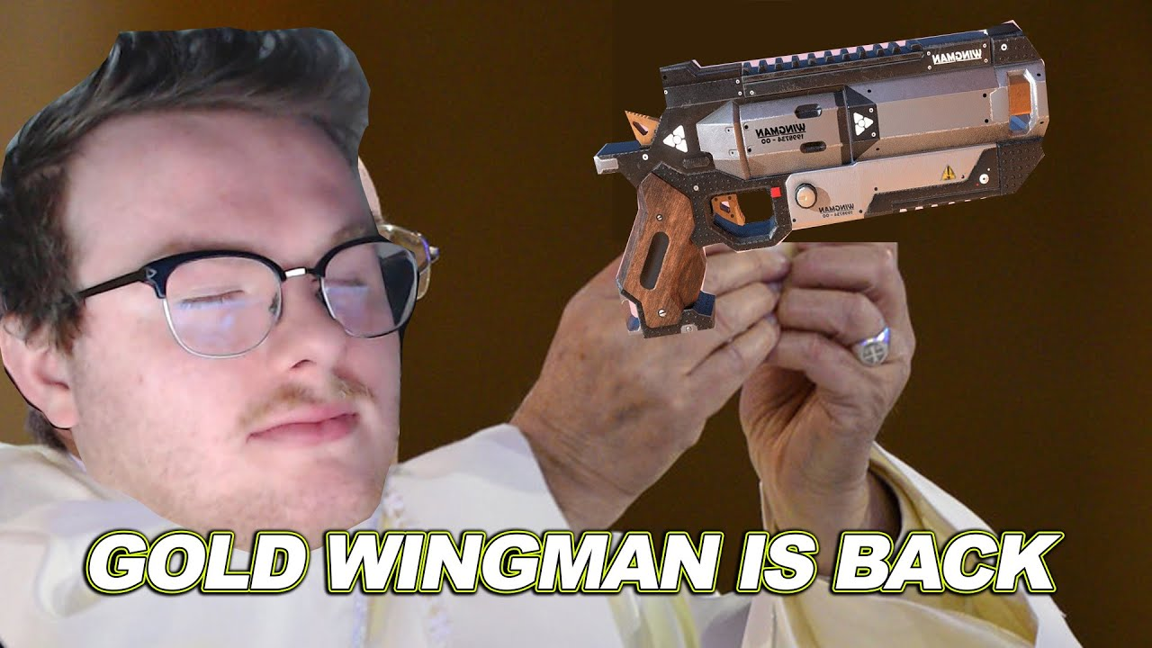 Finicki - Landed On A Gold Wingman And This Happened... (Season 7 Apex Legends)