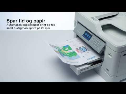 Farve inkjetprinter: MFC-J5930DW - produktvideo