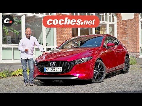 Mazda 3 Skyactiv-X 2019 | Primera prueba / Test / Review en español | coches.net