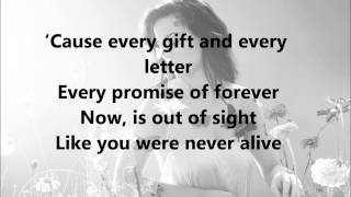 Ghost - Katy Perry - Lyrics