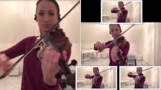 Stay - Rihanna feat Mikky Ekko (violin)