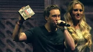 #AMF2014 Hardwell crowned No.1 at the DJ Mag Top 100 DJs ceremony