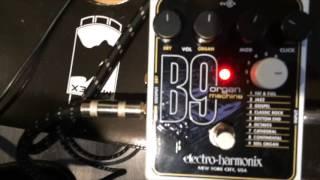 Electro-Harmonix - B9 - MUSIC CHALLENGE - Pierrick Valence