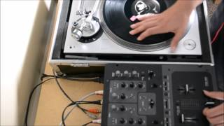 Kut's like a Guillotine! (ATLP-120 Turntable Scratch Test)