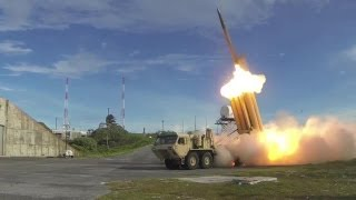 US Navy - Integrated Ballistic Missile Defense System Test Involving Aegis Destroyer & THAAD [720p]