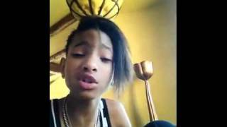 Willow Smith -  Thinking About You (Cover) [Frank Ocean Song]