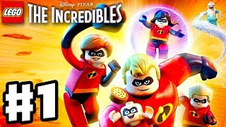 LEGO The Incredibles - Gameplay Walkthrough Part 1 - Under-Mined Intro!