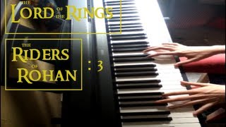 Lord Of The Rings - Riders Of Rohan (Piano Cover)