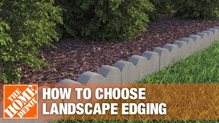 A video highlighting the benefits of types of landscape edging.