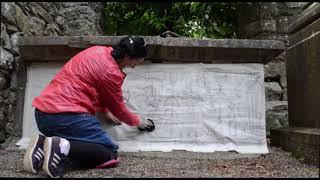 Altar Tomb of Baron Richard Comerford & Joanna St. Ledger of Da./nganmore Castle, Kilkenny: 1622