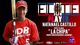 Natanael Castillo SS 2021 Class from (Ruddy Santin Baseball Academy) Date Video: 18.11.2018