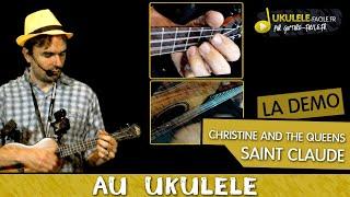 Cover Saint Claude de Christine and The Queens - Ukulélé