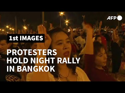 Thailand: pro-democracy protesters hold rally in Bangkok   AFP photo