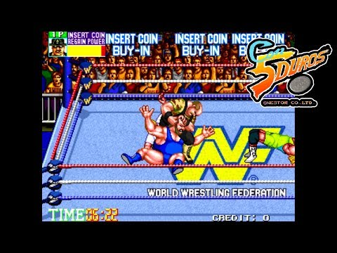 "WWF WRESTLEFEST (ROYAL RUMBLE) - "" CON 5 DUROS"" Episodio 532 (1cc) (CTR)"