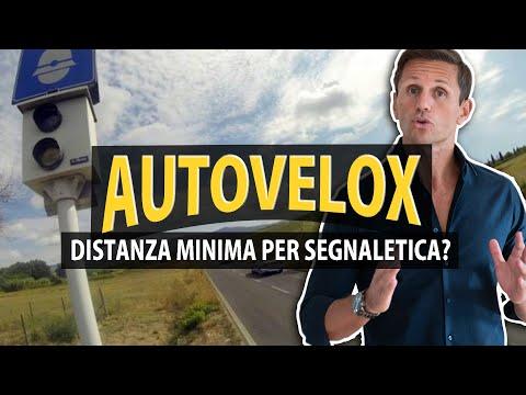 AUTOVELOX, c'è una distanza minima per la segnaletica? | avv. Angelo Greco