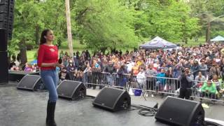 "BRONX WEEK 2016 Performing my first Latin cover ""Selena Como La Flor"""