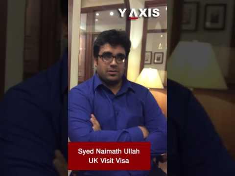 Syed Naimath Ullah UK Visit Visa PC Mohammed Ayub