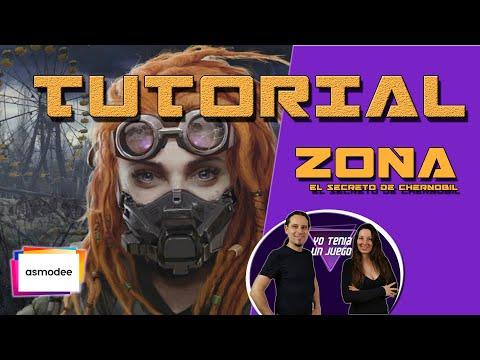 Zona | Cómo se juega | Tutorial | El Secreto de Chernóbil | Juego de Mesa | Español