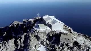 Άθως Áthos I Mount Athos I Heiliger Berg von I oben360