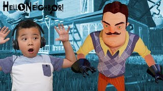 Hello Neighbor Trampoline Escape ACT 2 CKN Gaming