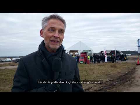 Sveriges största solcellspark Nya Solevi invigd
