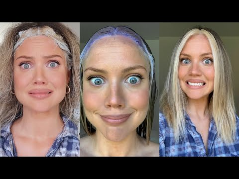 TikTok Made Me Try This | How NOT to Bleach Your Hair | Elanna Pecherle 2020