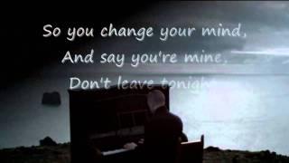 Hurts - Stay (Lyrics on screen) HD