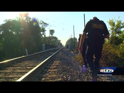 Railway police patrol tracks in Louisville amid uptick in trespassing